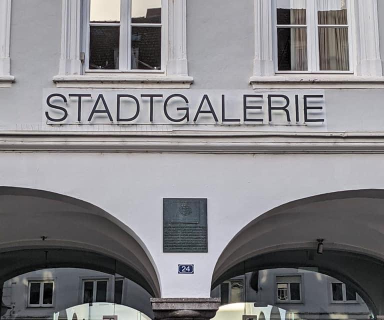 Neue Leitung der Stadtgalerie: Glückwunsch an Katharina Ritter